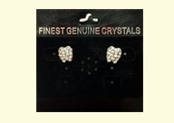 Dental Jewelry: Tooth-shaped Austrian Crystal Earrings
