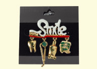 Dental Jewelry: Smile Pin with Pendants