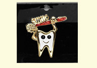 Dental Jewelry: Tooth and Brush Smile Pin